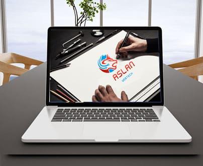 Logo laten ontwerpen Aslan Webtech