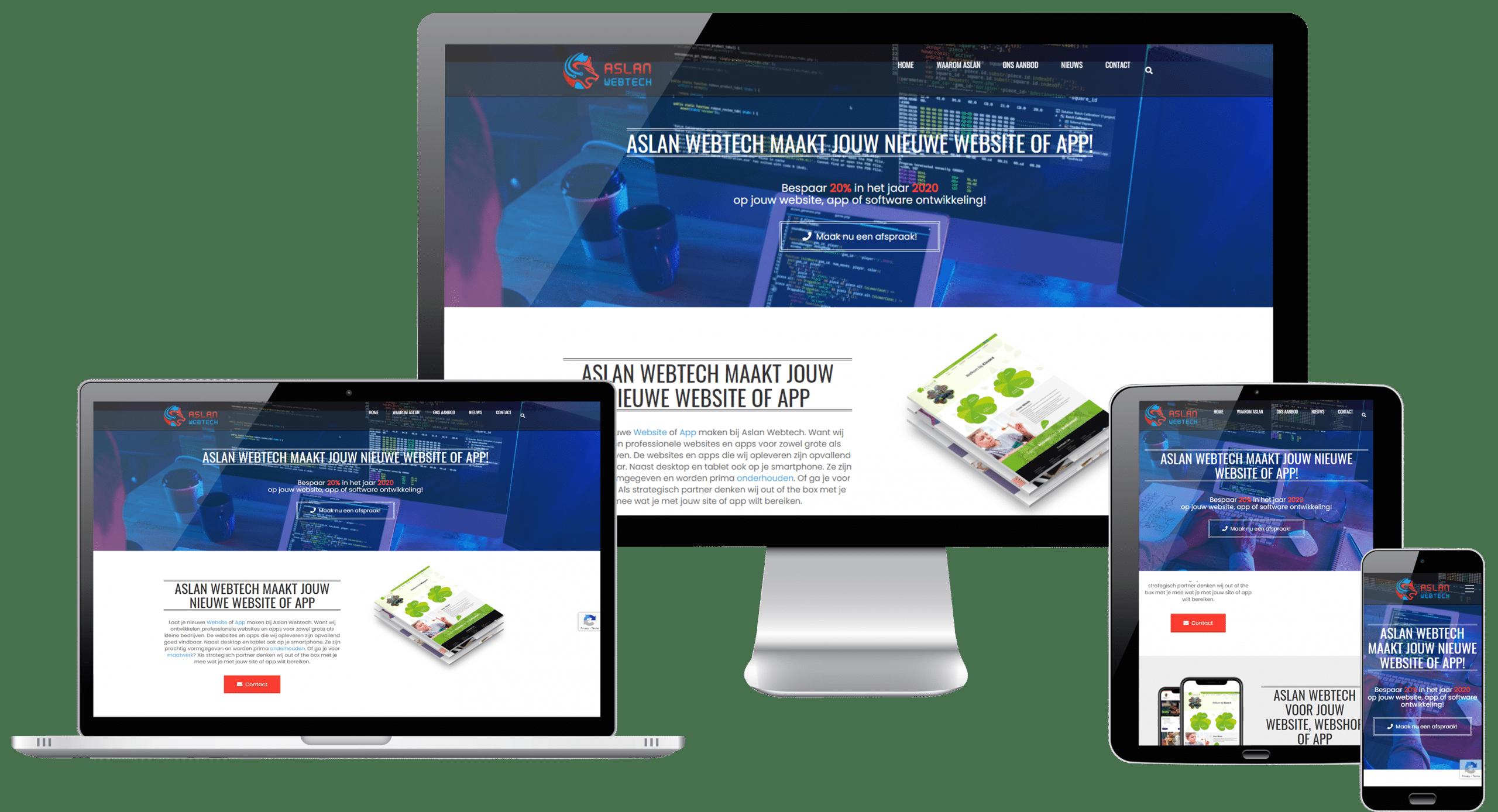 Professionele-webProfessionele-website-Aslan-Webtechsite-Aslan-Webtech